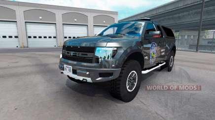 Ford F-150 SVT Raptor v2.1 for American Truck Simulator