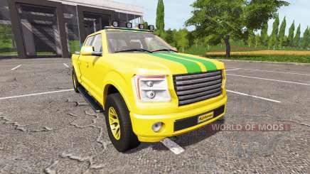 Lizard Pickup TT Service v1.4 for Farming Simulator 2017