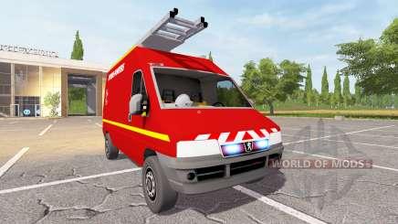 Peugeot Boxer (244) VTU for Farming Simulator 2017