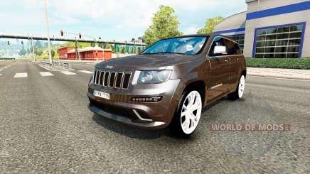 Jeep Grand Cherokee SRT8 v1.2 for Euro Truck Simulator 2