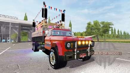 Dodge D700 partywagen for Farming Simulator 2017