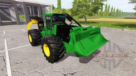Skidding grapple for Farming Simulator 2017