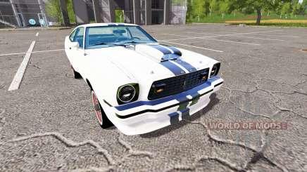 Ford Mustang II King Cobra 1978 for Farming Simulator 2017