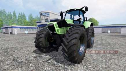 Deutz-Fahr Agrotron X 720 black wheels for Farming Simulator 2015