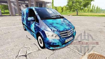Mercedes-Benz Viano Kryptek for Farming Simulator 2017