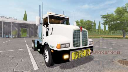 Kenworth T600 oversize load for Farming Simulator 2017