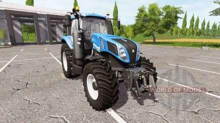 New Holland T8.435 tuning for Farming Simulator 2017