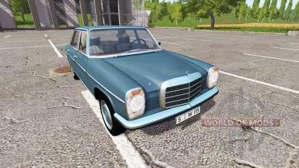 Mercedes-Benz 200D (W115) 1973 for Farming Simulator 2017