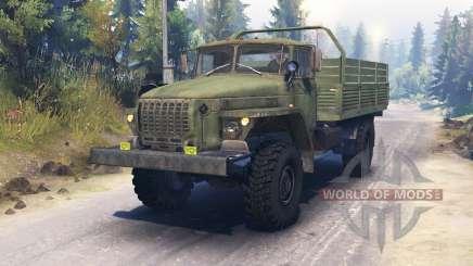 Ural-43206-41 for Spin Tires