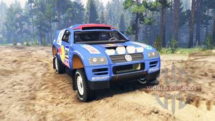 Volkswagen Touareg Dakar Rally for Spin Tires