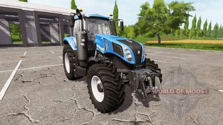 New Holland T8.380 v1.1 for Farming Simulator 2017