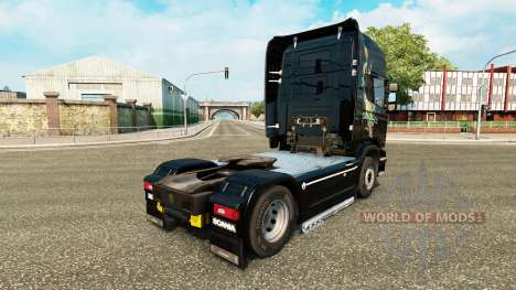 Skin dragon for truck Scania for Euro Truck Simulator 2