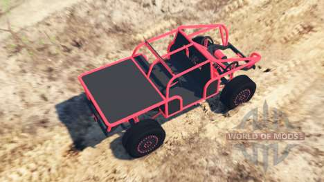 Off-road buggy for Spin Tires