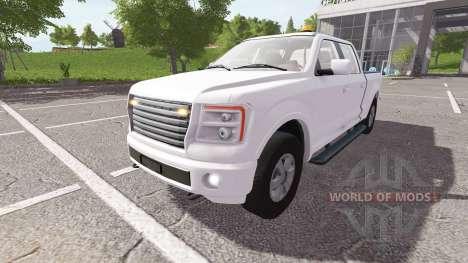 Lizard Pickup TT v1.3 for Farming Simulator 2017