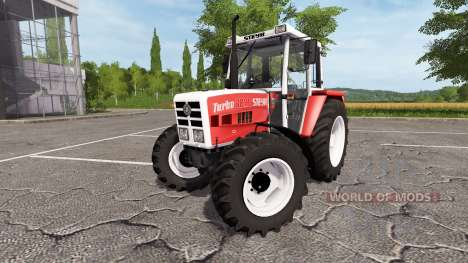 Steyr 8080A Turbo SK2 for Farming Simulator 2017