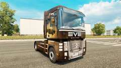 EvE skin for Renault Magnum tractor unit for Euro Truck Simulator 2