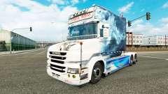 Smoke skin for truck Scania T for Euro Truck Simulator 2