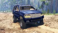 Jeep Grand Cherokee (WJ) for Spin Tires