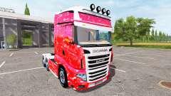Scania R700 Evo merry christmas for Farming Simulator 2017