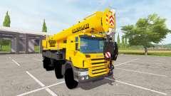 Scania P420 Liebherr LTF 1060 for Farming Simulator 2017