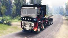 Renault Magnum 10x10 for Spin Tires