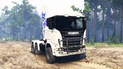 Scania R730 6x6 for Spin Tires