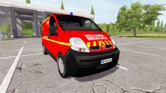 Renault Trafic secours medicale for Farming Simulator 2017