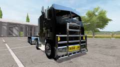 Freightliner White WF 10x10 for Farming Simulator 2017