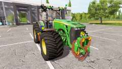 John Deere 8530 v2.3 for Farming Simulator 2017