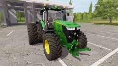 John Deere 7310R v1.4 for Farming Simulator 2017