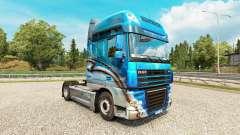 Konzack skin for DAF truck for Euro Truck Simulator 2