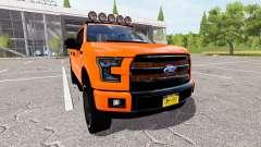 Ford F-150 Lariat SuperCrew for Farming Simulator 2017
