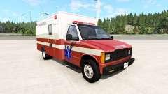 Gavril H-Series San Andreas Ambulance v0.1 for BeamNG Drive