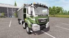 MAN TGS dumper 8x8 for Farming Simulator 2017