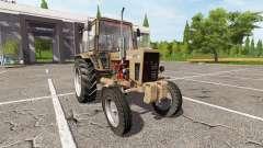 MTZ-80, Belarus v1.1 for Farming Simulator 2017