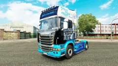 The skin on the tractor Scania for Euro Truck Simulator 2