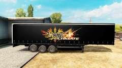 Skin Monster Hunter 4 Ultimate on the trailer for Euro Truck Simulator 2