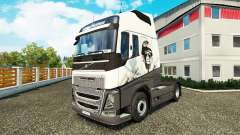 Cool Lion skin for Volvo truck for Euro Truck Simulator 2