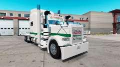 Skin Krispy Kreme for the truck Peterbilt 389 for American Truck Simulator