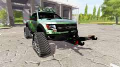 Ford F-150 SVT Raptor crawler for Farming Simulator 2017
