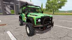 Land Rover Defender 90 Dakar v2.0 for Farming Simulator 2017