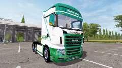 Scania R700 Evo Easter & Voss for Farming Simulator 2017