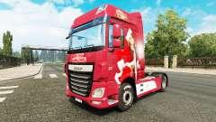 Christmas skin for DAF truck for Euro Truck Simulator 2