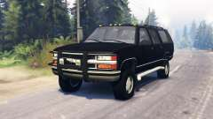 Chevrolet Suburban GMT400 for Spin Tires