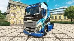R. Thurhagens skin for Volvo truck for Euro Truck Simulator 2