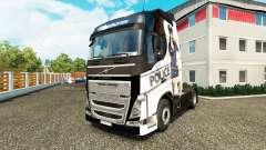 Sexy Police skin for Volvo truck for Euro Truck Simulator 2