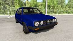 Volkswagen Golf Mk2 GTI 1987 update for BeamNG Drive