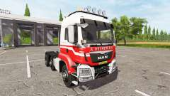 MAN TGS 18.440 A. Helmer B.V. hauler v2.3 for Farming Simulator 2017