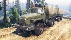 Ural-4320-31 v2.0 for Spin Tires