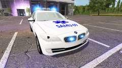 BMW 520d Touring (F11) SMUR for Farming Simulator 2017